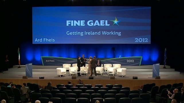 Fine Gael had the biggest amount of donations