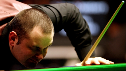 Stephen Maguire has surged clear of Joe Perry at the Crucible