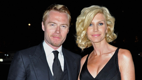 Ronan and Yvonne have split after 14 years of marriage