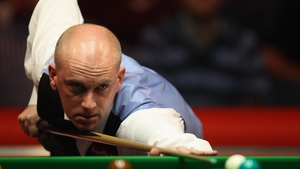 Peter Ebdon won the final four frames of the session