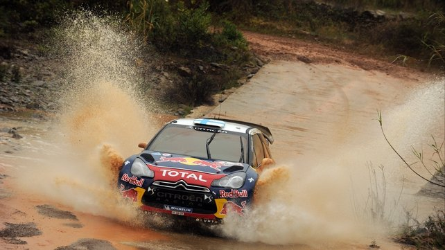 Mikko Hirvonen secured his first win for Citroen since his move from Ford