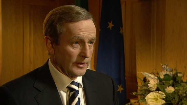 Enda Kenny says Government has a serious job of work ahead