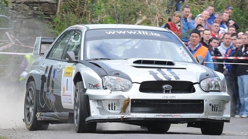 Thomas Fitzmaurice secured victory in the Circuit of Kerry Rally