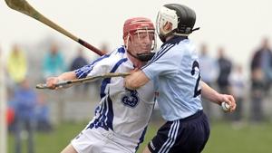 John Mullane battles hard during Waterford's four-point win over Dublin