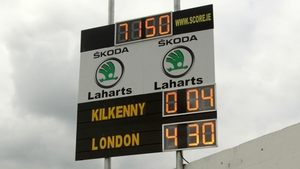 It was another hard day at the office for the Kilkenny footballers as the final score shows