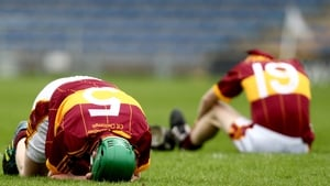 The agony of Kilkenny CBS players after losing to Nenagh CBS in the All-Ireland Colleges Senior Hurling A Final