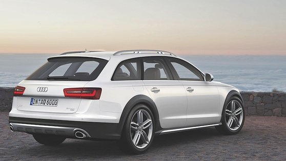 The new Allroad is more efficient, with an up to 20% reduction in fuel consumption over the outgoing car that was launched in 2006