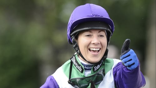 Hayley Turner has been released from hospital after a nasty fall at Doncaster