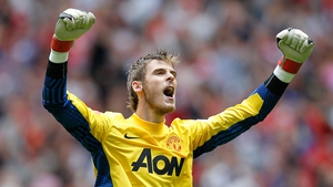 David de Gea moved to United for £18m from Atletico Madrid in 2011