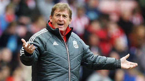 Kenny Dalglish is unhappy with the desire his players showed against Fulham