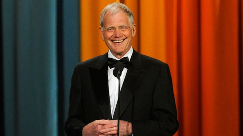 Letterman surprises with retirement announcement