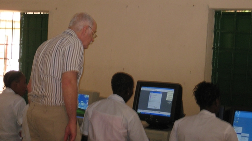 Jim Henry at St Peter's Skill Centre