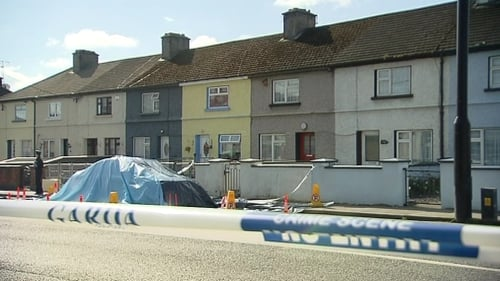The death occurred at a house on Kilbride Street in Tullamore