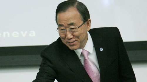 "UN Secretary-General Ban Ki-moon - ""The situation on the ground continues to deteriorate"""
