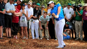 The focus was all on Rory McIlroy on Thursday and the Holywood man opened with a double bogey at the first
