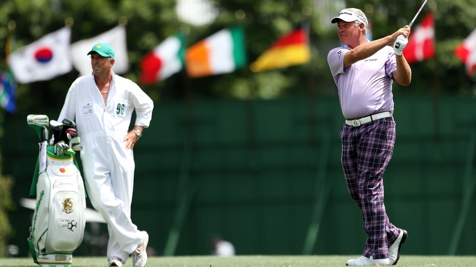 Darren Clarke has a steady opening round but faded on Friday to miss the cut by five shots