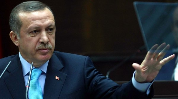 Tayyip Erdogan has warned Syria not to make a