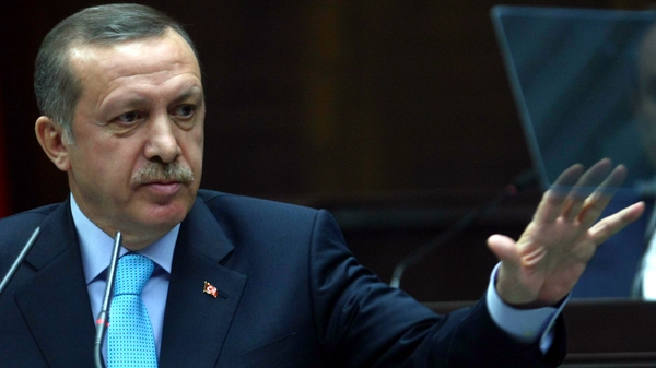 Turkish Prime Minister Recep Tayyip Erdogan has said Turkey might set up a buffer zone