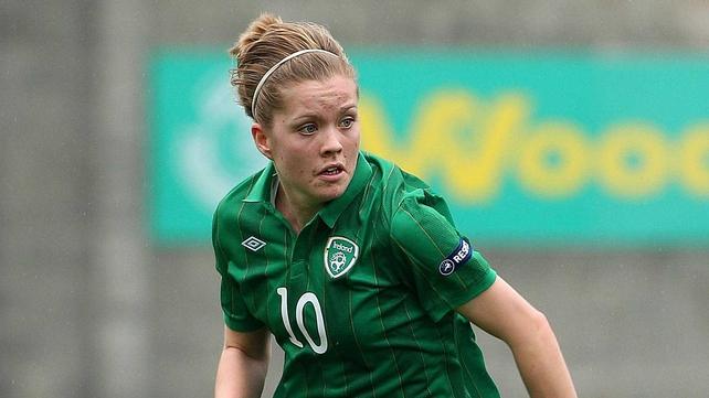 Denise O'Sullivan's goal put Ireland into the lead