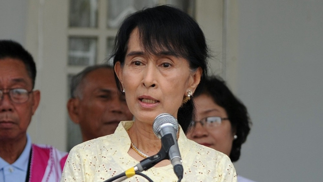 Aung San Suu Kyi will attend a special concert in Dublin