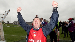 Louth manager shows his delight as Louth thumped their great rivals Meath to maintain their Allianz FL Division 2 status
