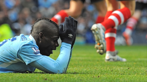Mario Balotelli's career could be over in two years, says City boss Roberto Mancini