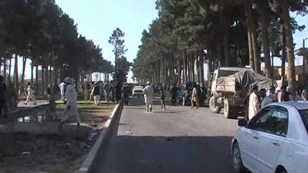 11 people killed in attack on the airport road in Herat