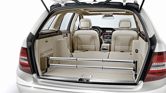 The cargo area can hold up to 1500 litres