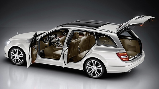 C Class Estate prices start at just under €40,000