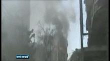 Syrian tanks shell Hama ahead of ceasefire deadline