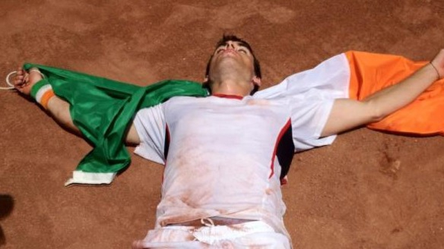 James McGee battled through 40 degree heat in Cairo to win the decisive Davis Cup rubber