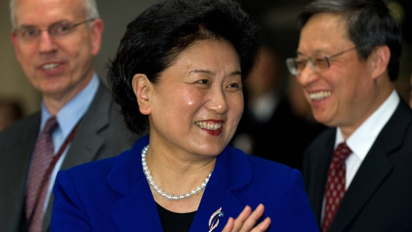 Liu Yandong is one of just a few women in a senior position in the Chinese government