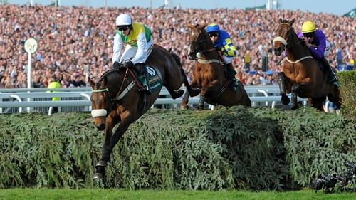 Aintree will be seeking a new sponsor for its showcase race in 2014
