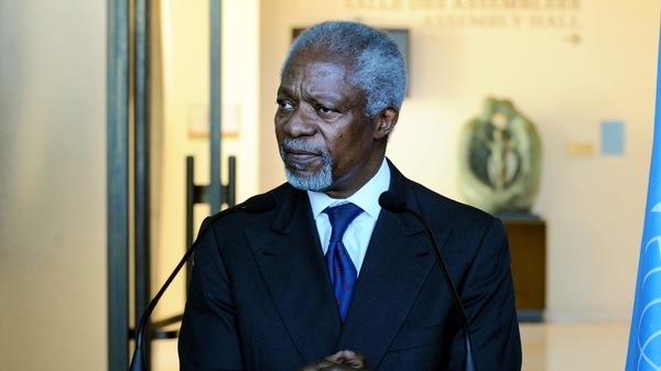 Kofi Annan is to brief the United Nations Security Council and General Assembly on Thursday