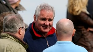 Brent Pope at the clash of Clontarf and St Mary's at Castle Avenue in 2010