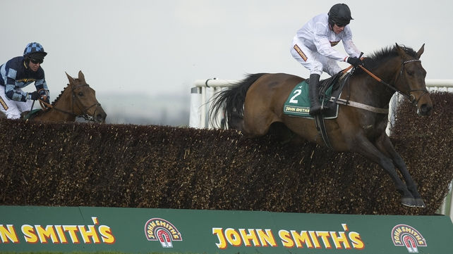 Finian's clears the last to win at Aintree last April