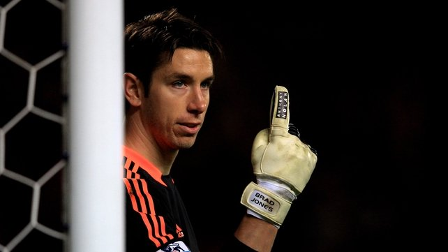 Brad Jones is sticking with Liverpool