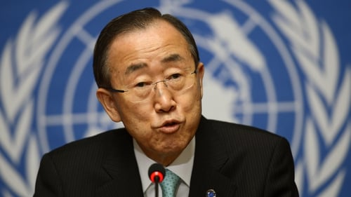 Ban Ki-moon said he is working on sending a larger mission to Syria
