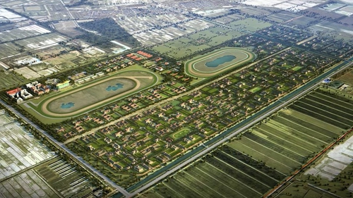 China is spending almost €2bn on the Tianjin Equine Culture City project