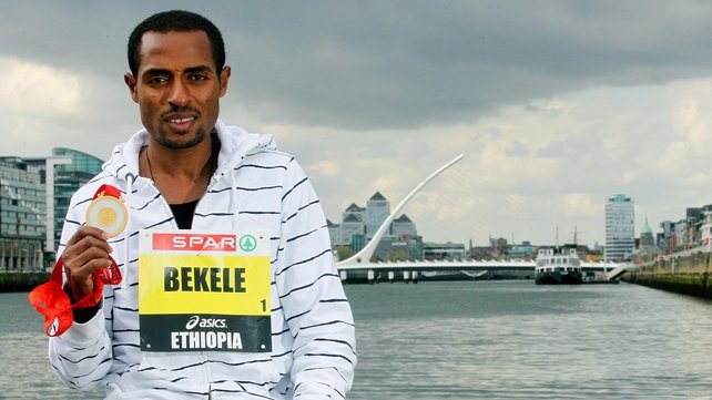 Kenenisa Bekele was in stunning form in the Spar Great Ireland Run at the Phoenix Park