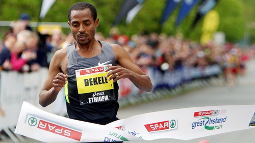 Kenenisa Bekele is once again the Great Ireland Run champion