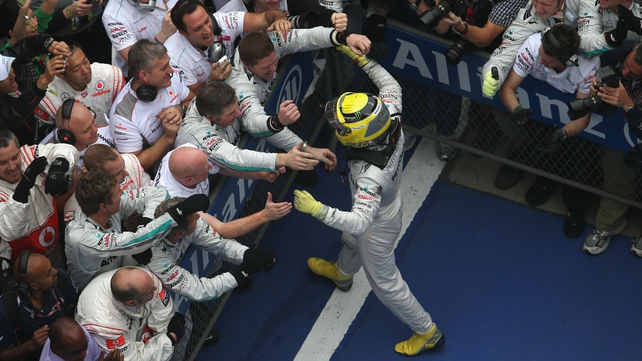 Rosberg wins Chinese Grand Prix for Mercedes