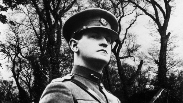 Michael Collins was the country's Finance Minister from 1919 to 1921.