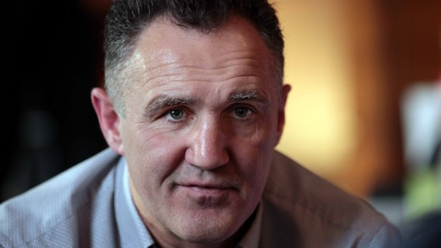 Ireland's head boxing coach Billy Walsh