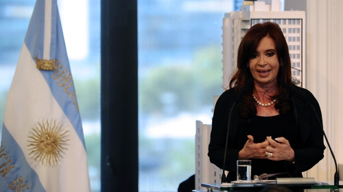 "President Cristina Fernandez branded the hold-outs ""vultures,"" out to wreck her country's finances in their pursuit of profits"