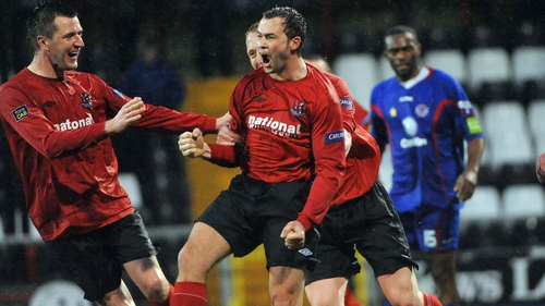 Crusaders are on course for Setanta Cup final after beating Sligo Rovers