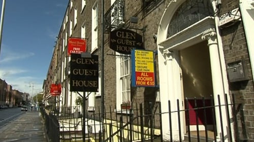 Woman checked into the Glen Guest House over the weekend