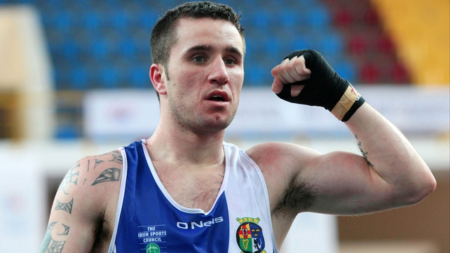 David Oliver Joyce was named Boxer of the Tournament
