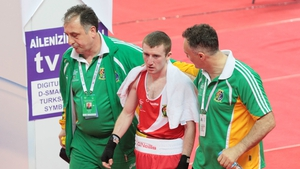 Paddy Barnes after his bout on Tuesday