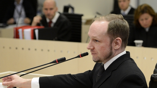 Mr Breivik, 33, has been questioned about his alleged militant nationalist contacts on the third day of his trial